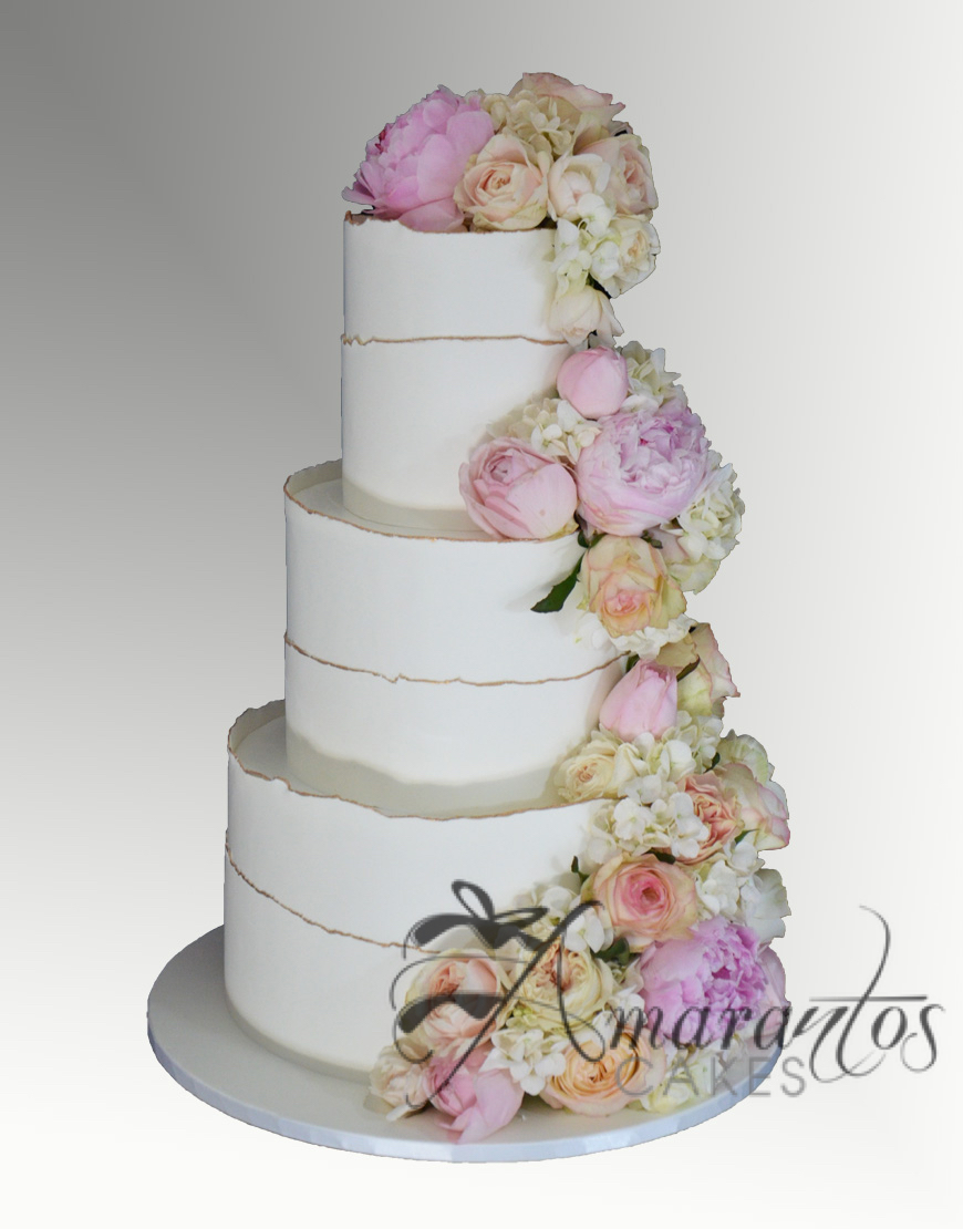 Six tier Wedding Cake - WC46