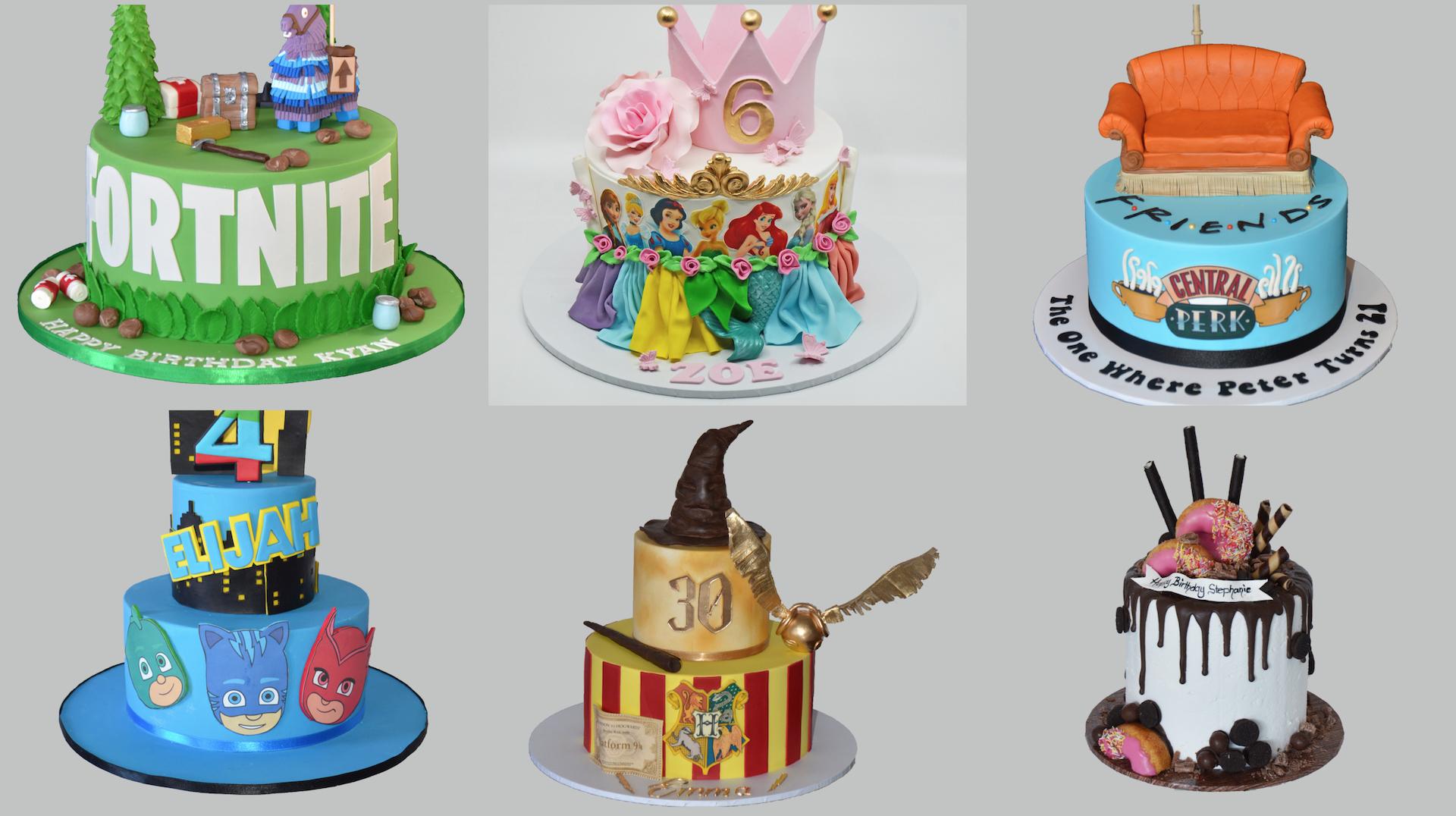 birthday 2 Amarantos Cakes