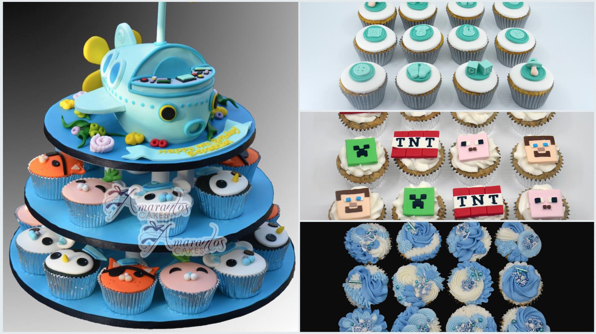 cupcakes Amarantos Cakes