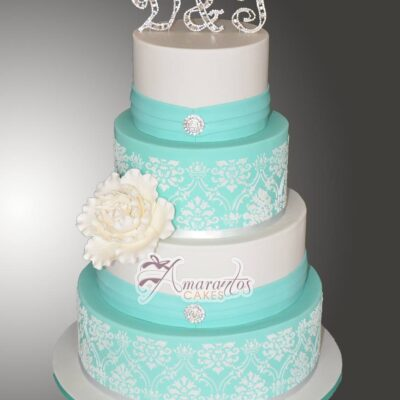 Four Tier Wedding Cakes